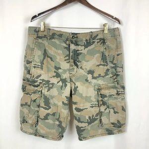 Levis Camo Cargo shorts